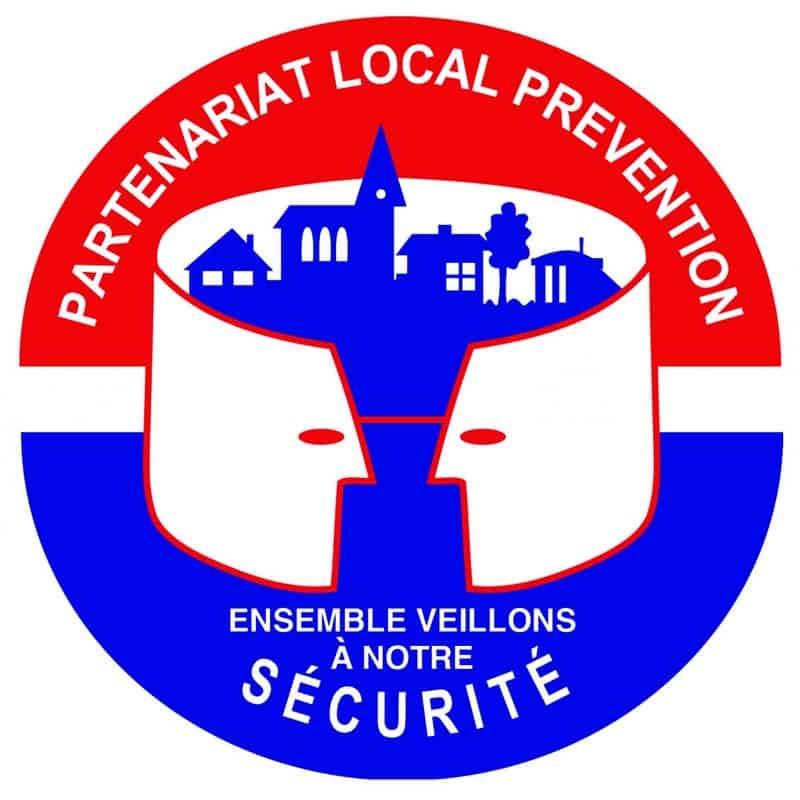 Le panneau signalant le début des partenariats locaux de prévention, ou PLP